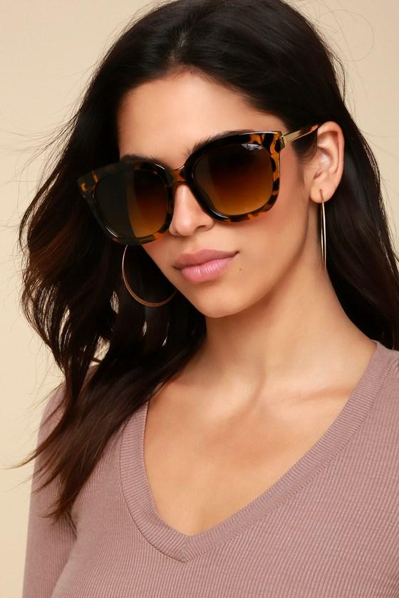 Cute Tortoise Sunglasses - Oversized Sunglasses 7bcab2879