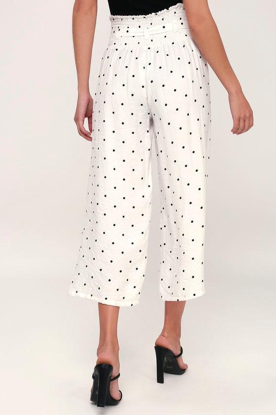36d62a7501b8 LOST INK Shayna - Polka Dot Pants - Culottes