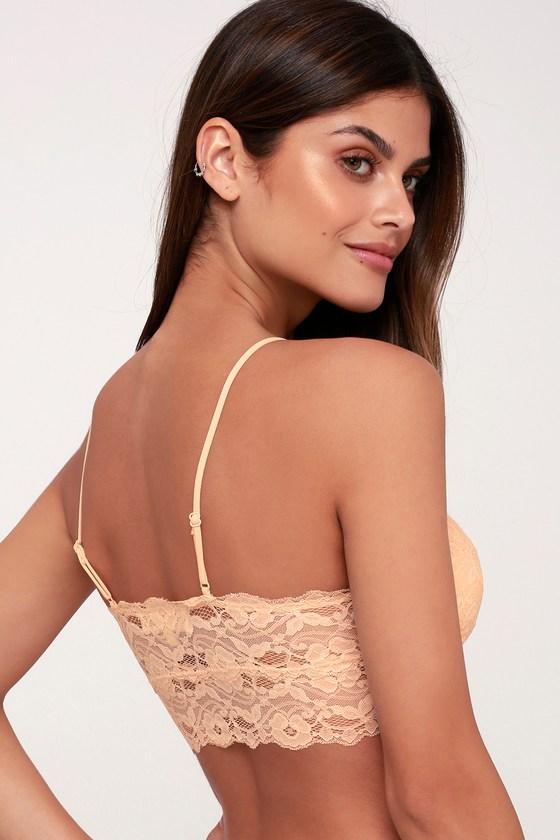 eee4656cf6 Sexy Lace Bralette - Blush Bralette - Blush Lingerie