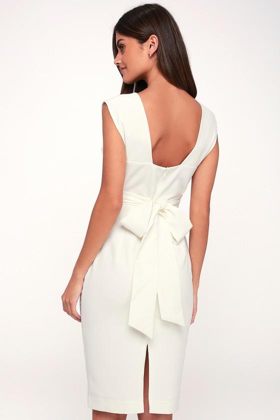 1eb4967e7e Grace Willow The Label Cecilia - White Dress - Sheath Dress