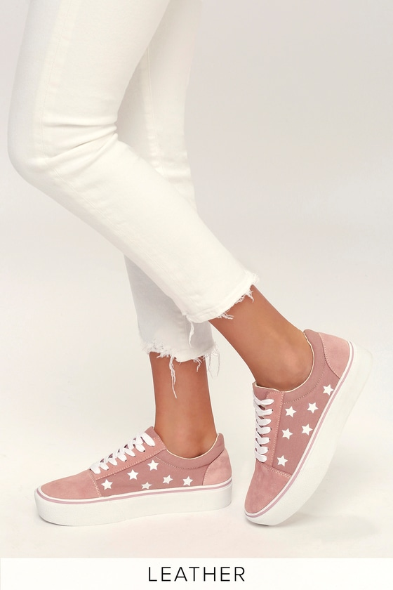 Steve Madden Emile - Pink Sneakers