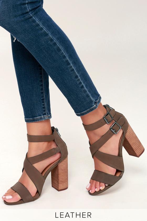 7822ddcee91 Steve Madden Sundance - Brown Sandals - High Heel Sandals