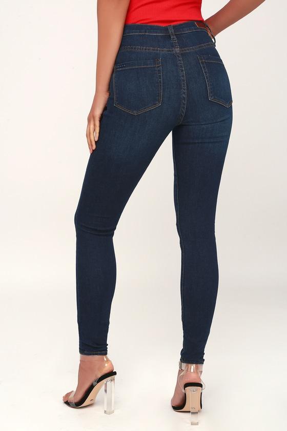 0176e4f8583b Blank NYC The Great Jones - Dark Wash High Rise Skinny Jeans