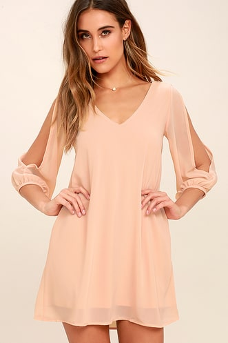 69148435fe1ab Buy a Trendy Long Sleeve Dress and Look Hot on Cool Days ...