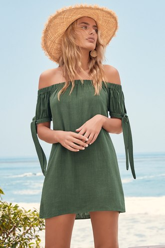 26d8ab6cbe9b Find a Cute Off-Shoulder Casual Dress at a Great Price