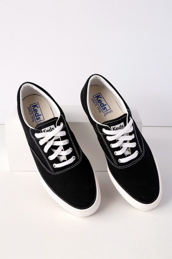 288702a441e6 Keds Anchor - Black Sneakers - Canvas Sneakers