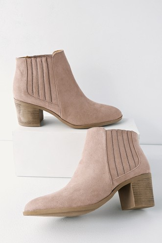 245741d8e Ankle Booties -Women's Ankle Boots-Short Boots-Heeled Ankle Boots
