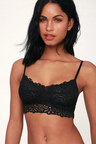 993cf7f54cb3c Next to Nothing Peony - Pink Bralette - Pink Lace Bralette