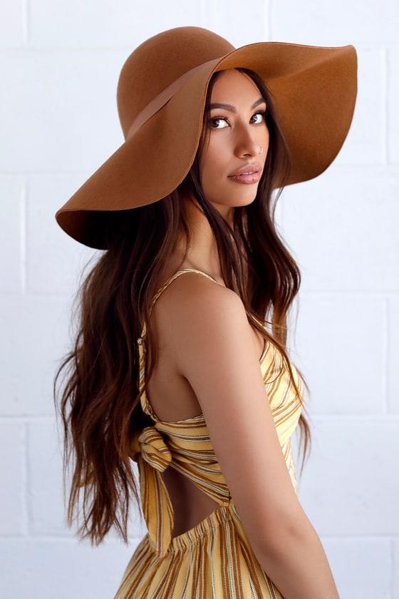 Women's Vintage Hats | Old Fashioned Hats | Retro Hats Carmen Sun Diego Taupe Hat - Lulus $37.00 AT vintagedancer.com