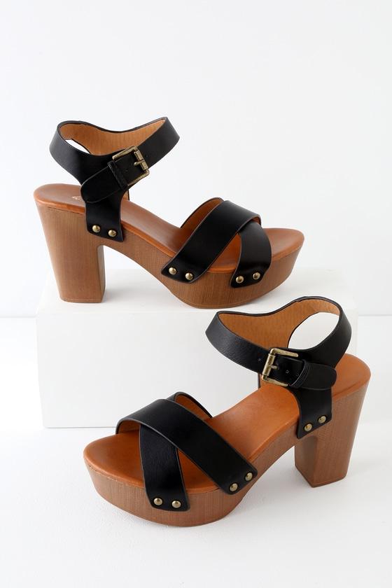 Platform Sandals - Platform Heels