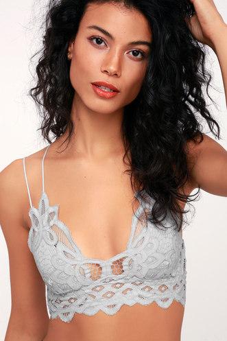 c285059c0eaec Adella Light Grey Lace Bralette