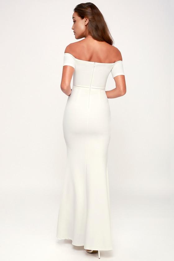 dbca4f31d5bf Stunning Maxi Dress - Mermaid Maxi Dress - White Maxi Dress