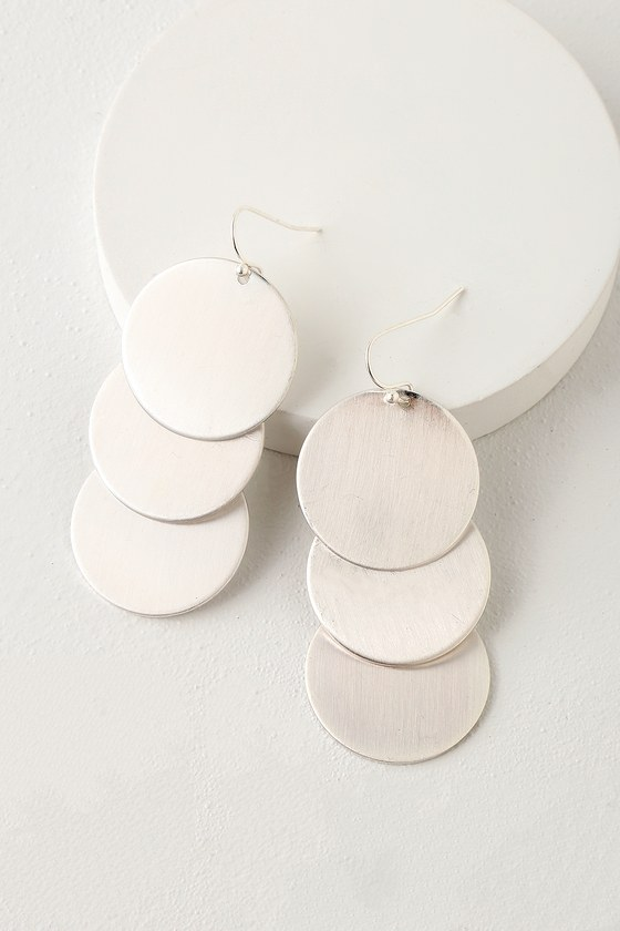 Well Rounded Silver Earrings