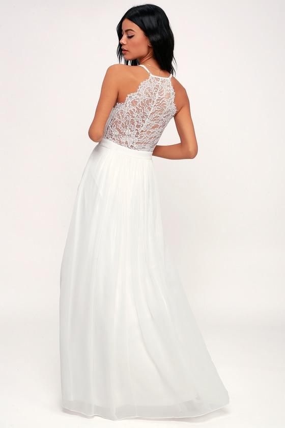 Beautiful White Lace Dresses