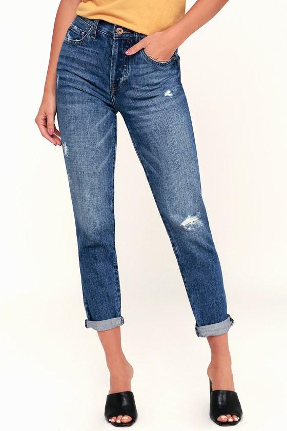 f20393a2bc8 Pistola Presley Jeans - Medium Wash Jeans - Boyfriend Jeans