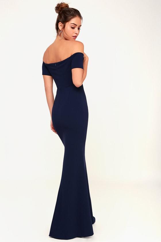 1ca272d8096 Stunning Maxi Dress - Blue Mermaid Maxi Dress - Blue Maxi Dress
