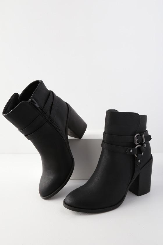 Madden Girl Evilin - Black Ankle