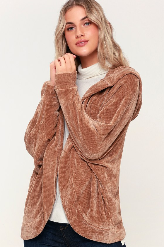 8493c384561 BB Dakota Sidewalk Swagger - Chenille Jacket - Sweater Jacket
