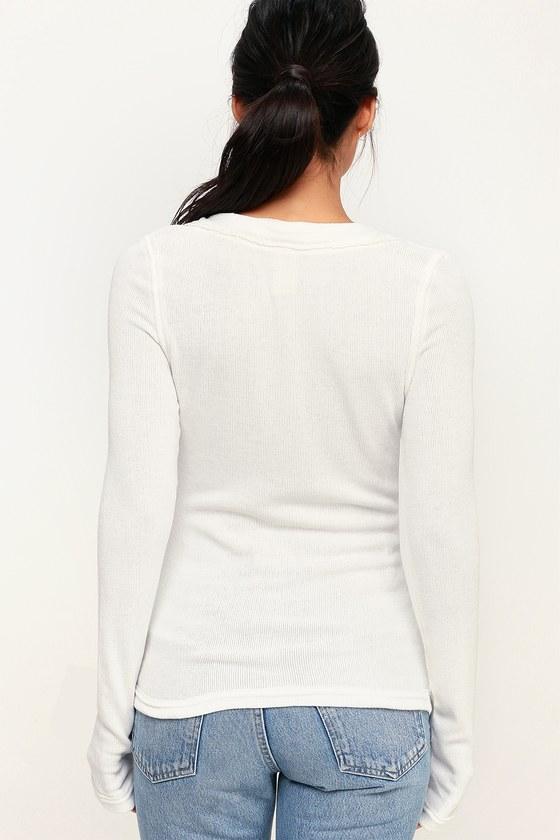 Free People Call Me Cardi - White Sweater - Cardigan Sweater 622469aac