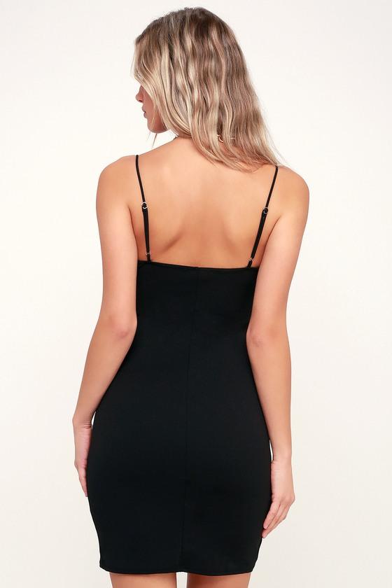 4c7e5d28e0 Sexy Black Dress - Cutout Dress - Bodycon Dress - Cutout Bodycon