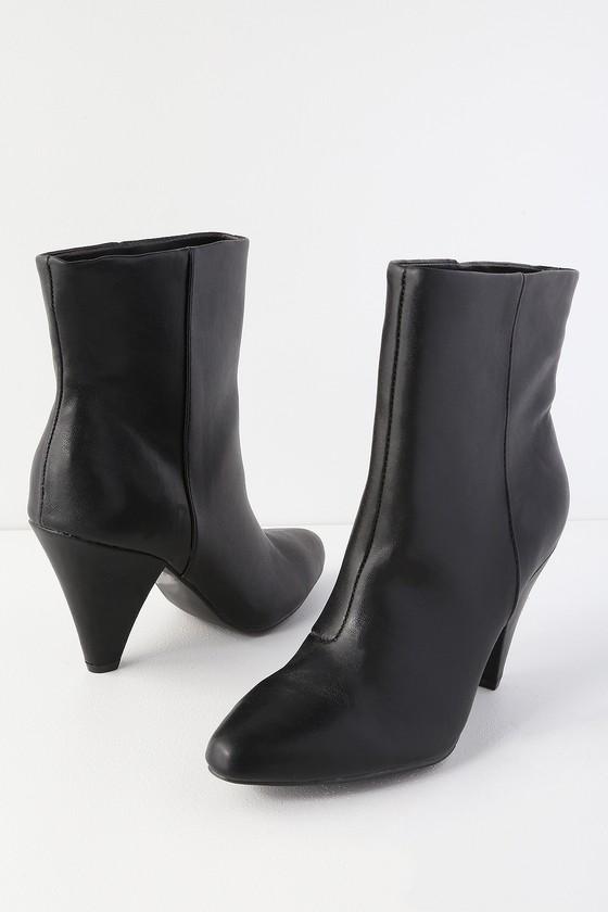 9eac6896387b DV by Dolce Vita Boss - Black Stella Boots - Mid-Calf Booties