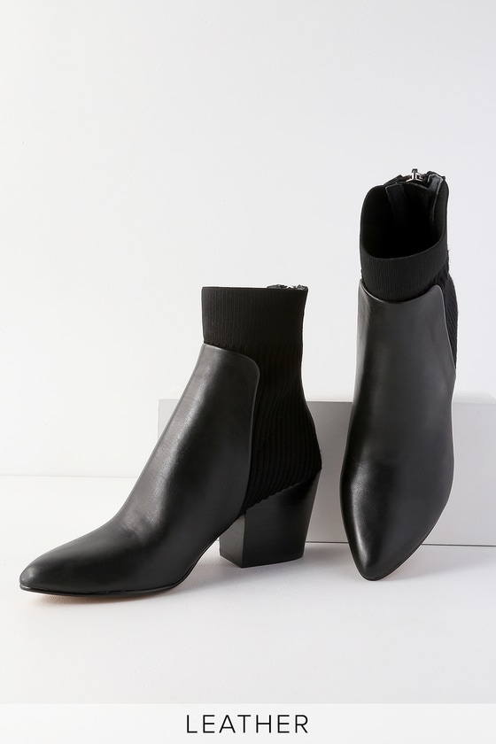 Dolce Vita Caris - Black Ankle Boots