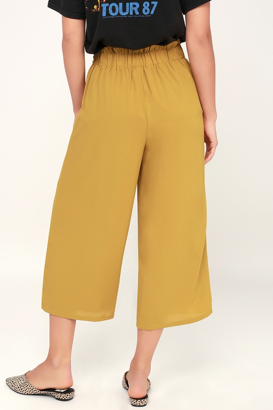 cb4e9ecdac6 Sage the Label Lost in the Light - Culottes - Yellow Pants
