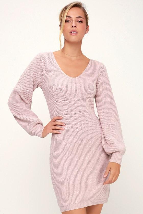 Cute Short Sweater Dresses