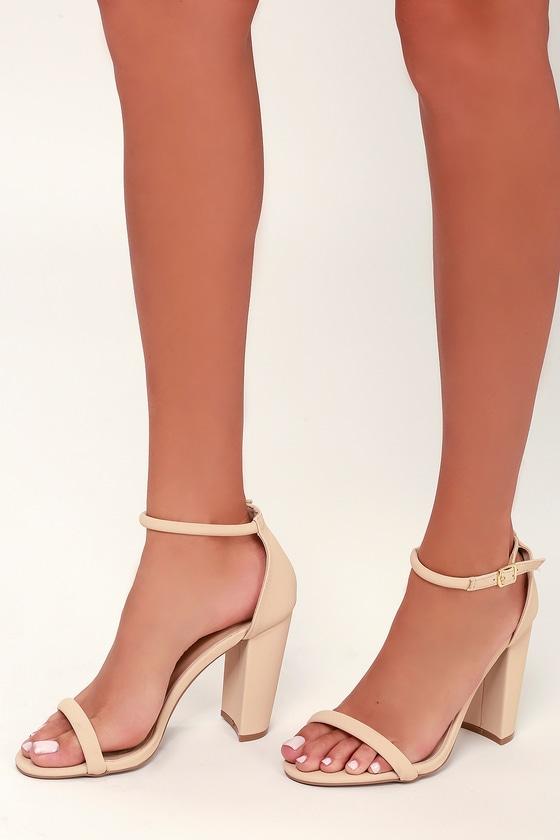 Nude With Heels
