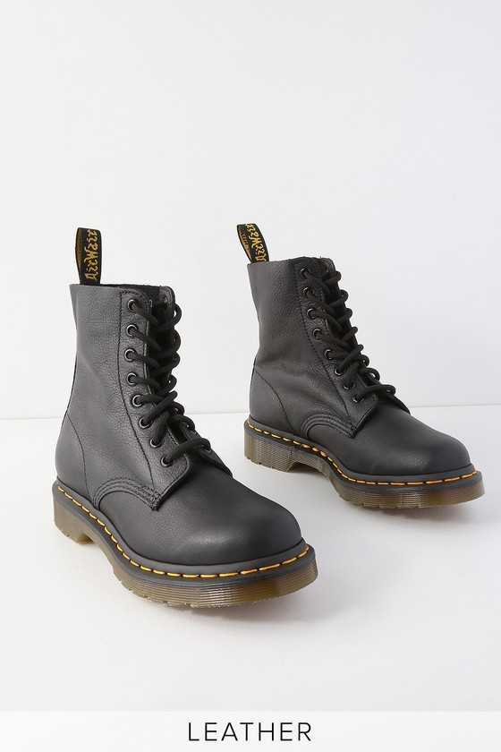 ce16811b7412 Dr. Martens 1460 Pascal - Black Boots - Virginia Leather Boots