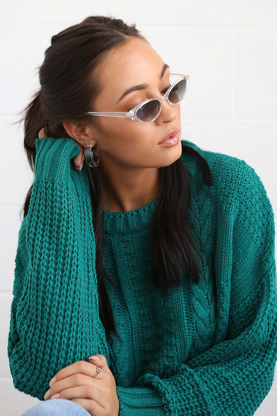 Retro Sunglasses | Vintage Glasses | New Vintage Eyeglasses Bayside Black Small Cat-Eye Sunglasses - Lulus $6.00 AT vintagedancer.com
