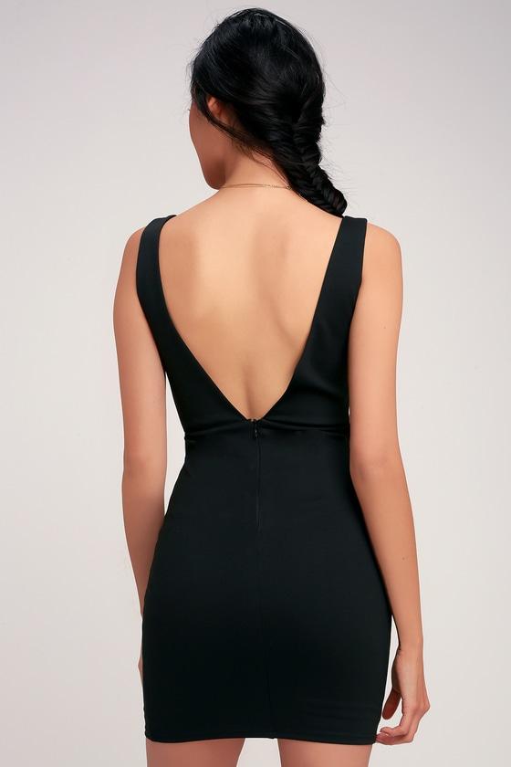 e818b011265 Sexy Black Dress - Black Bodycon Dress - Sexy Black Lace Dress