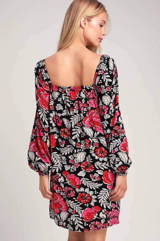 4fd2f15a513 Billabong Spring Warrior Dress - Floral Dress - Shift Dress