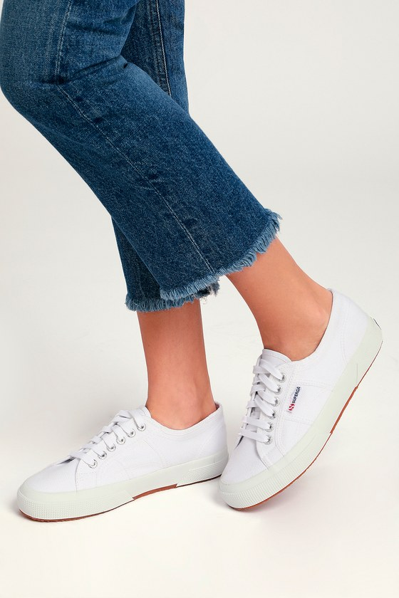 superga cotu white leather