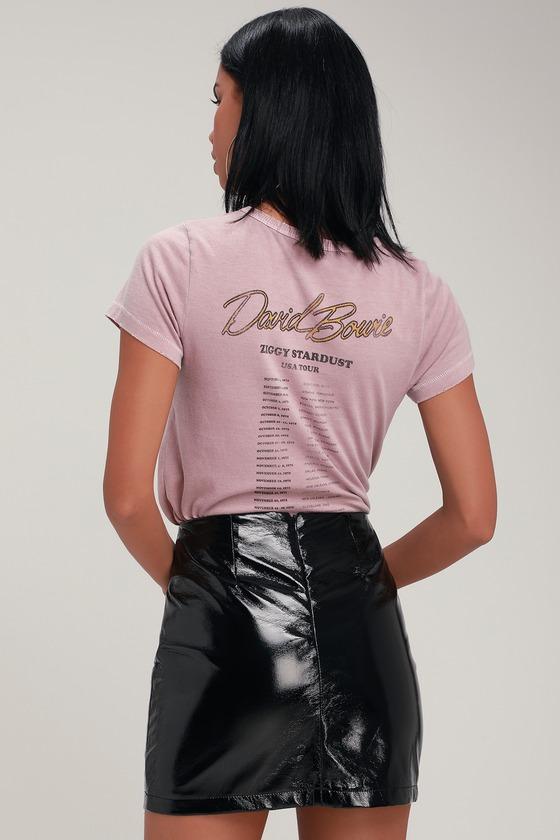32f026b744 Cool Black Skirt - Mini Skirt - Patent Vegan Leather Skirt