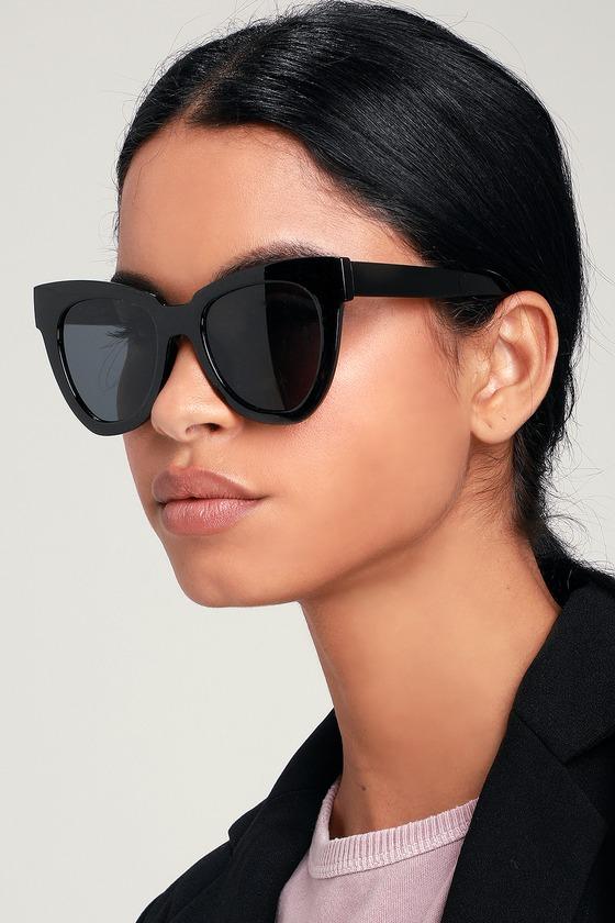 33ee19fae60 Cool Black Sunglasses - Oversized Sunglasses - Black Sunnies