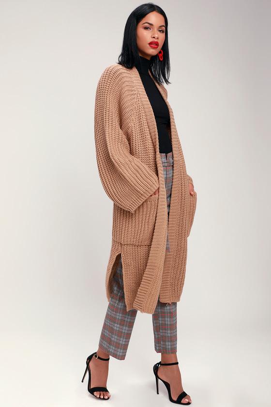 8fde9334bbe Cozy Cardigan - Oversized Cardigan - Long Cardigan
