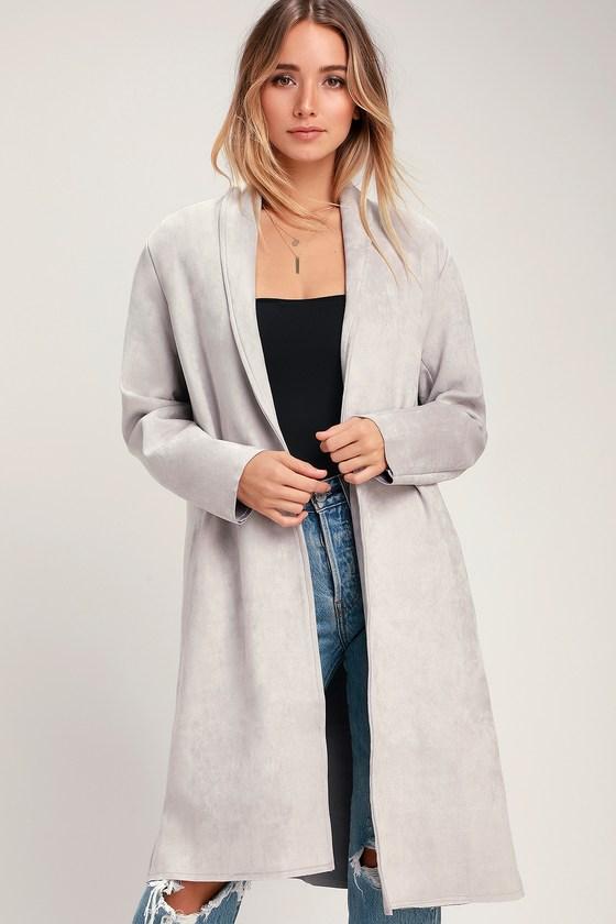 Grey swade Coat