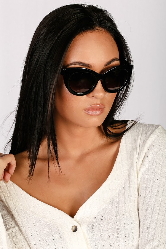 6baa956b6 Cute Black Sunglasses - Cat-Eye Sunglasses - Round Sunnies
