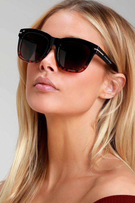 29684161e4 Prive Revaux The Clique - Tortoise and Black Sunglasses - Sunnies