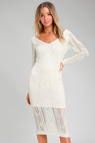51999c47dc Find a Sexy Sweater Dress for Any Occasion