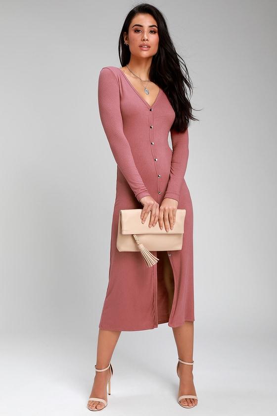 266df7dfc2f Rusty Rose Cardigan Sweater - Longline Cardigan - Sweater Dress