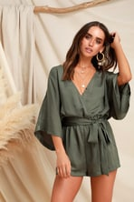 9d09a1a3f9d On the Road Florence - Green Floral Print Jumpsuit - Jumpsuit