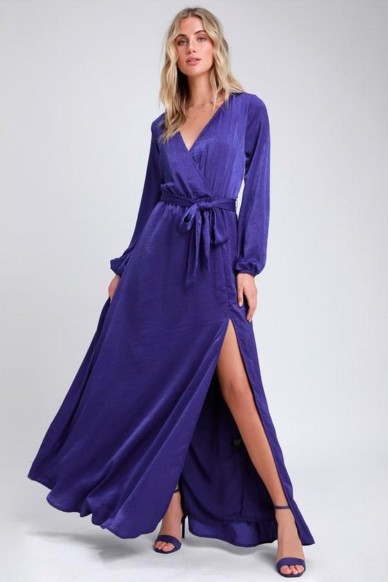 Royal Purple Maxi Dresses