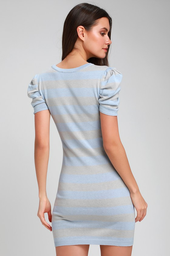 Stores debs striped bodycon sweater dress