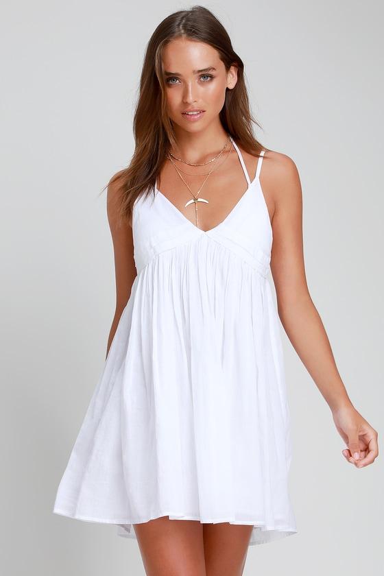 a5394142efb9c O Neill Felix - White Swim Cover-Up - White Swim Dress - Cover-Up