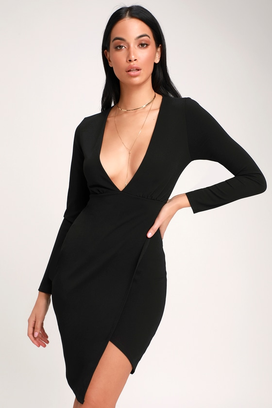 Weddings & Events Friendly Seductive Sequined Glitter Cocktail Party Midi Dress Women Sexy Deep V Neck Low Back Crossover Straps Bodycon Draped Neckline