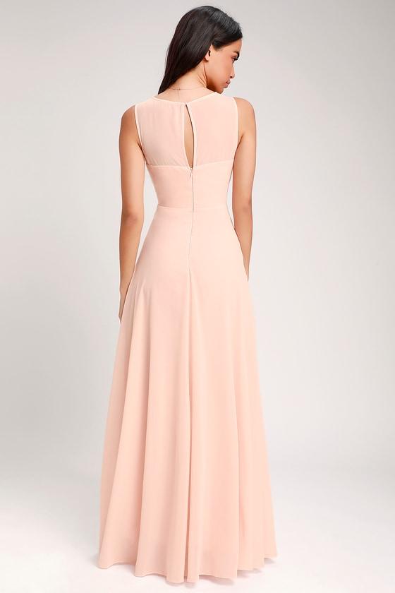 7e99d5be3fe2 Blush color maxi dress Gorgeous blush colored maxi t