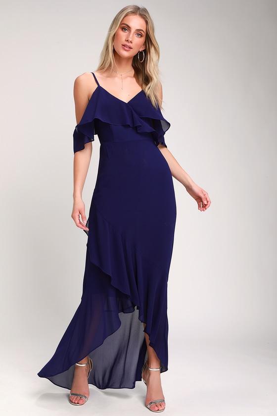 Dark Blue Short Dresses