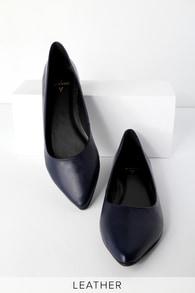 ae1b753325a4 Cute Navy Sandals - Navy Blue Sandals - Flat Sandals